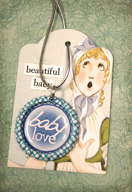 Baby Shower Bottle Cap Gift Bag