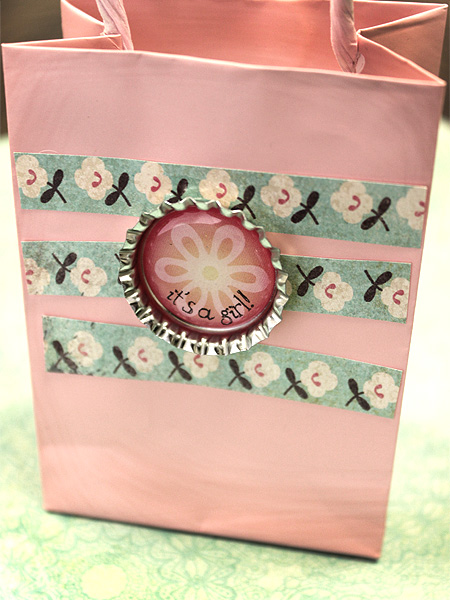 Bottle Cap Gift Bag