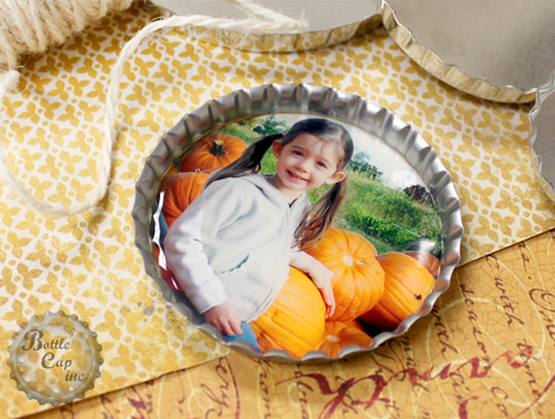 Fall Photo Ornament