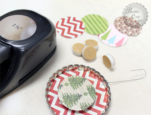 Easy Scrap Paper Christmas Ornaments