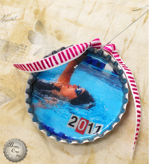 Sports Bottle Cap ornaments