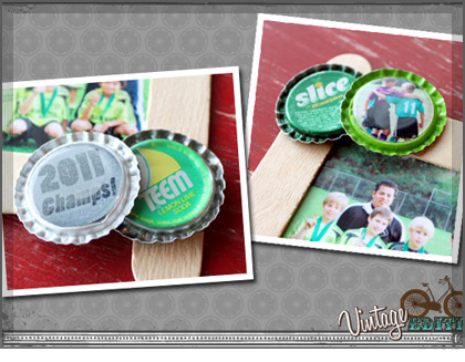 How to Make Craft Stick Picture Frames | Bottle Cap Inc
