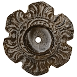 Antique Brown Knob, Base Plate