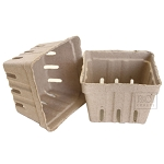 Berry Baskets -Natural 10pc
