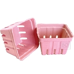 Berry Baskets -Pink 10pc