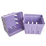 Berry Baskets -Purple 10pc