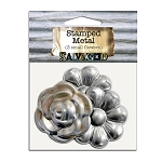 Stamped Metal -3 Small Flowers