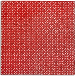 Tin Ceiling Tile -Bright Red Diamond