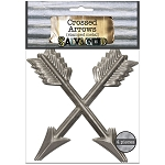 Crossed Arrows 4/pkg