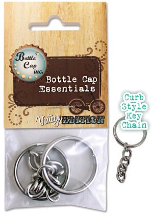 2 Curb Key Chain
