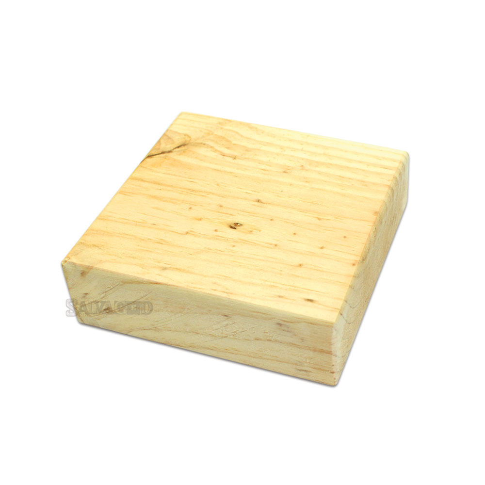 Salvaged Pine Block 6 Quot X6 Quot By Bci Crafts
