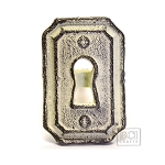 Antique Ivory Knob, Lock