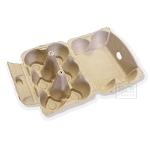 Egg Carton -Natural 4pc