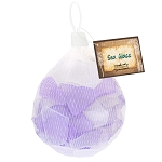 Sea Glass -Purple and White Mix