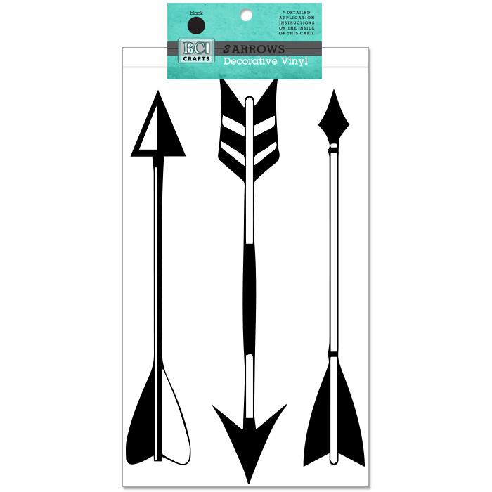 Vinyl Arrows Black