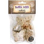 Bark Wood Pieces -Butterflies 4pc