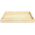 Small Wood Tray -Natural
