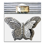Metal Butterfly 6.5x4.5 -Cut and Formed 1pc