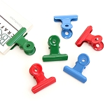 Bull Clips -31 mm Color Mix 6pc