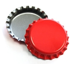 Cherry Red Bottle Caps