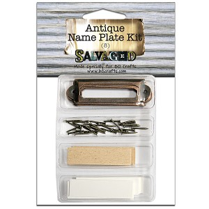 Antique Name Plate Kit