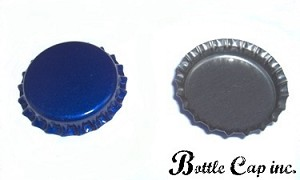 Blue Bottle Caps