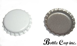 White Bottle Caps