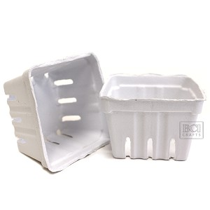 Berry Baskets -White 10pc
