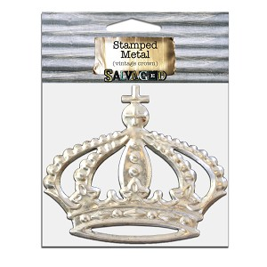 Metal Crown 6.5x5.5 -Cut and Formed 1pc